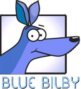 Blue Bilby Logo